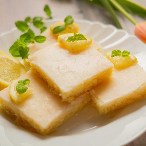 Zitronenkuchen vom Blech aus dem Thermomix®