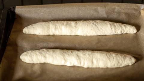 Baguette Rohlinge formen