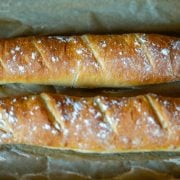 Fertige französisches Baguette aus dem Thermomix®