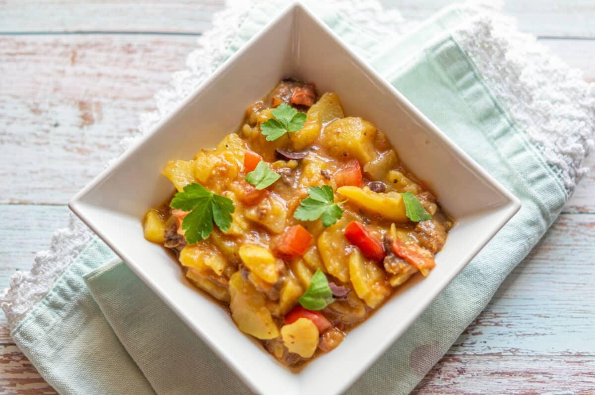 Tomaten-Oliven Kartoffelsalat aus dem Thermomix®