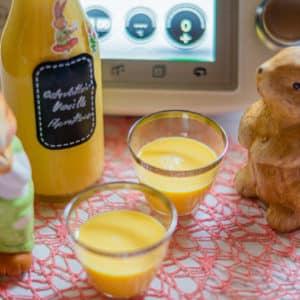 Osterlikör Vanille-Aprikose aus dem Thermomix®