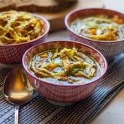 Leichte Pfannkuchen-Suppe aus dem Thermomix®