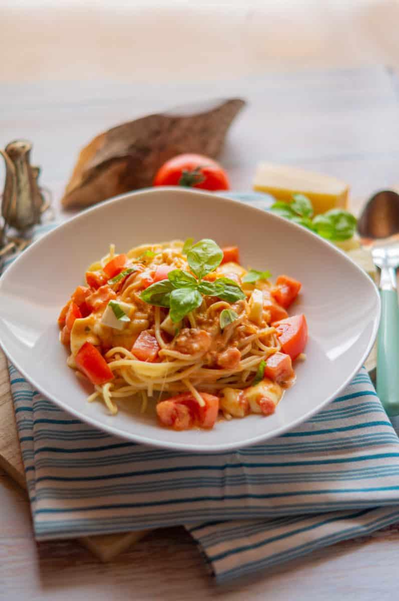 Schnelle Spaghetti gehen immer!
