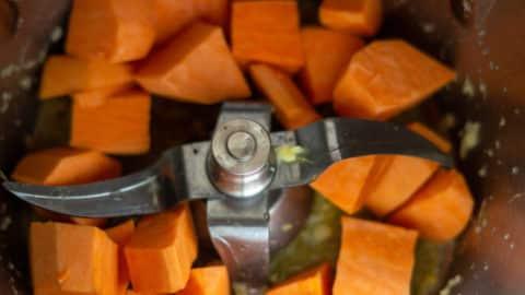 Süßkartoffeln Mixtopf Thermomix