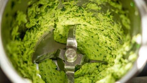 Bärlauch Butter im Thermomix