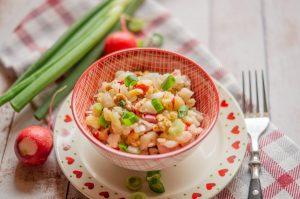 Kohlrabi-Radieschen-Apfel Salat aus dem Thermomix®