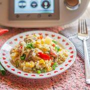 Fruchtiger Reissalat aus dem Thermomix®
