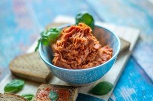 Tomatenbutter aus dem Thermomix® Rezept