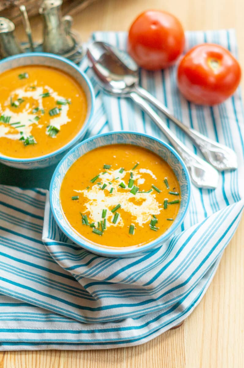 Tomatencremesuppe aus dem Thermomix® selbstgemacht