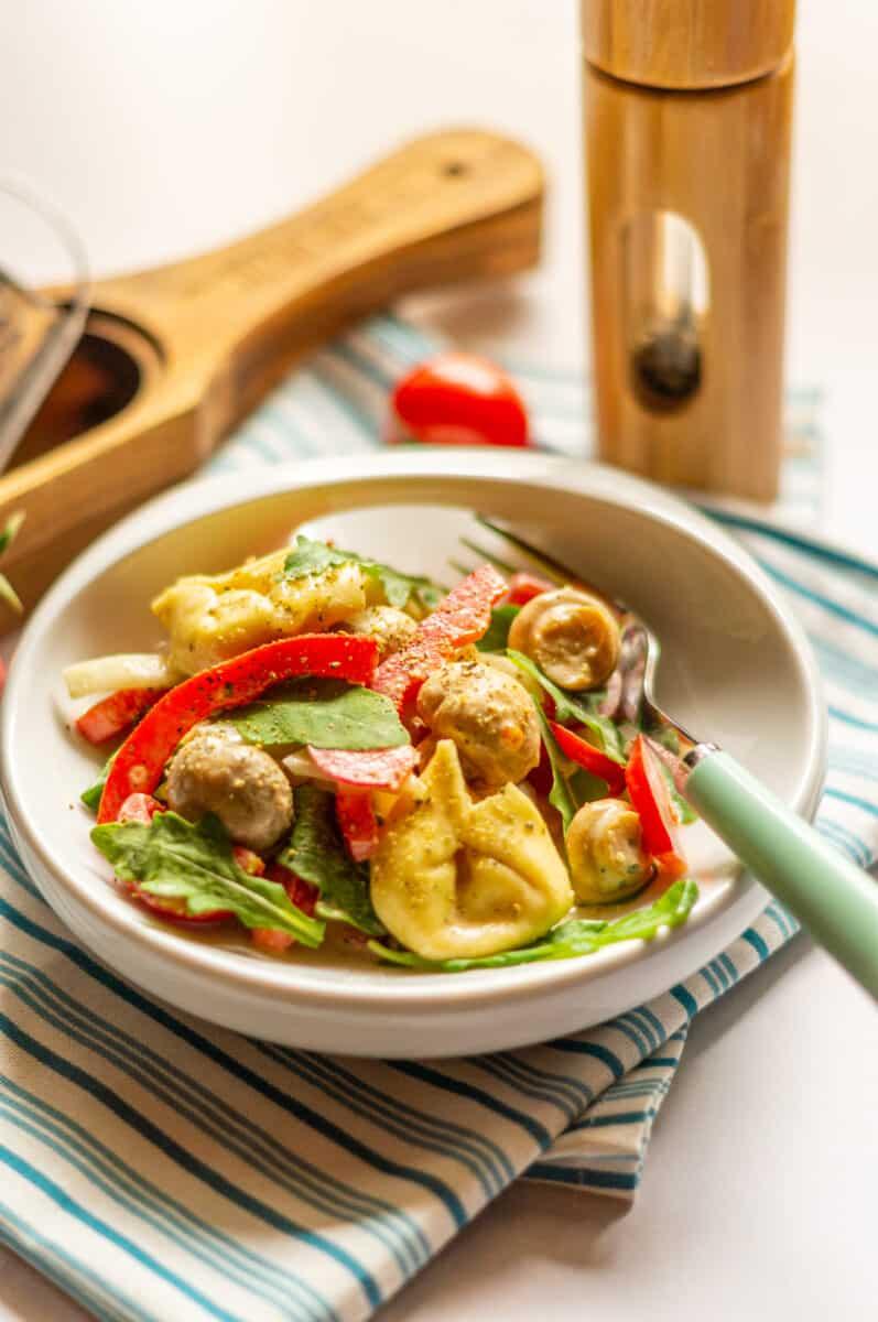 Tortellini-Salat aus dem Thermomix® für Pinterest