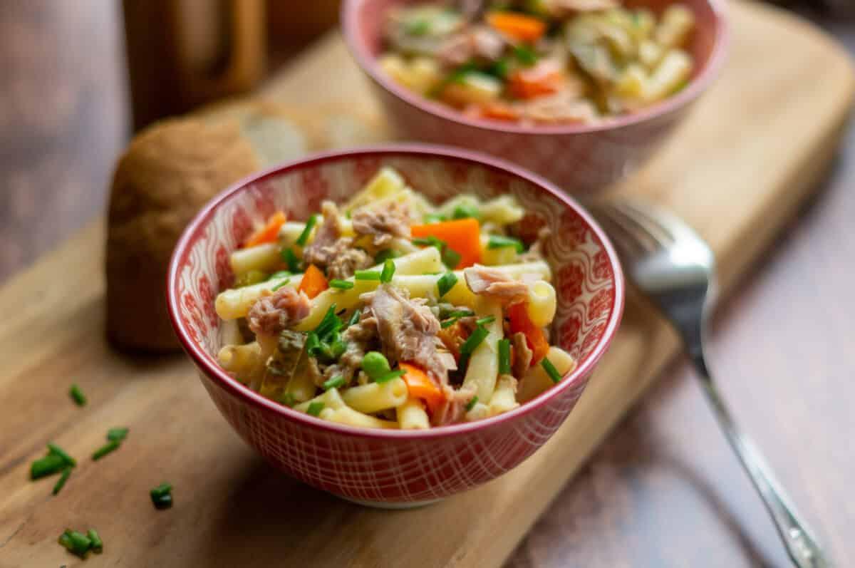 Nudelsalat mit Thunfisch aus dem Thermomix®