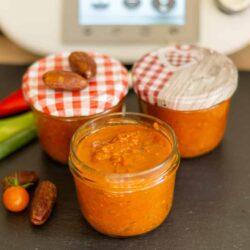 Tomaten-Dattel Chutney aus dem Thermomix®