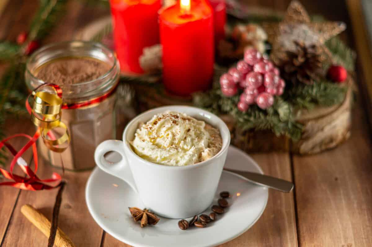 Weihnachts-Cappuccino Pulver aus dem Thermomix®
