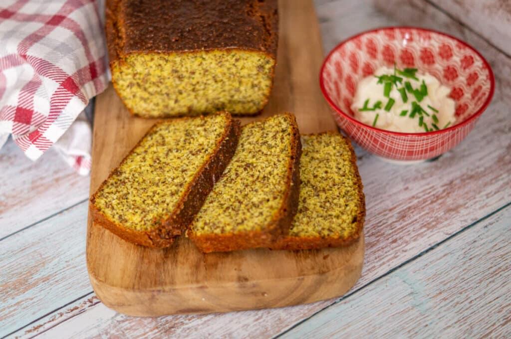 Dieses feine Brot eignet sich perfekt zum Abnehmen