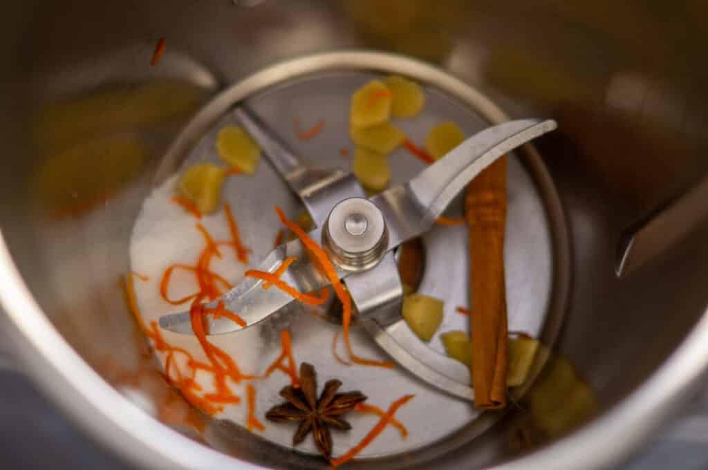 Zutaten Glüh-Gin im Thermomix®