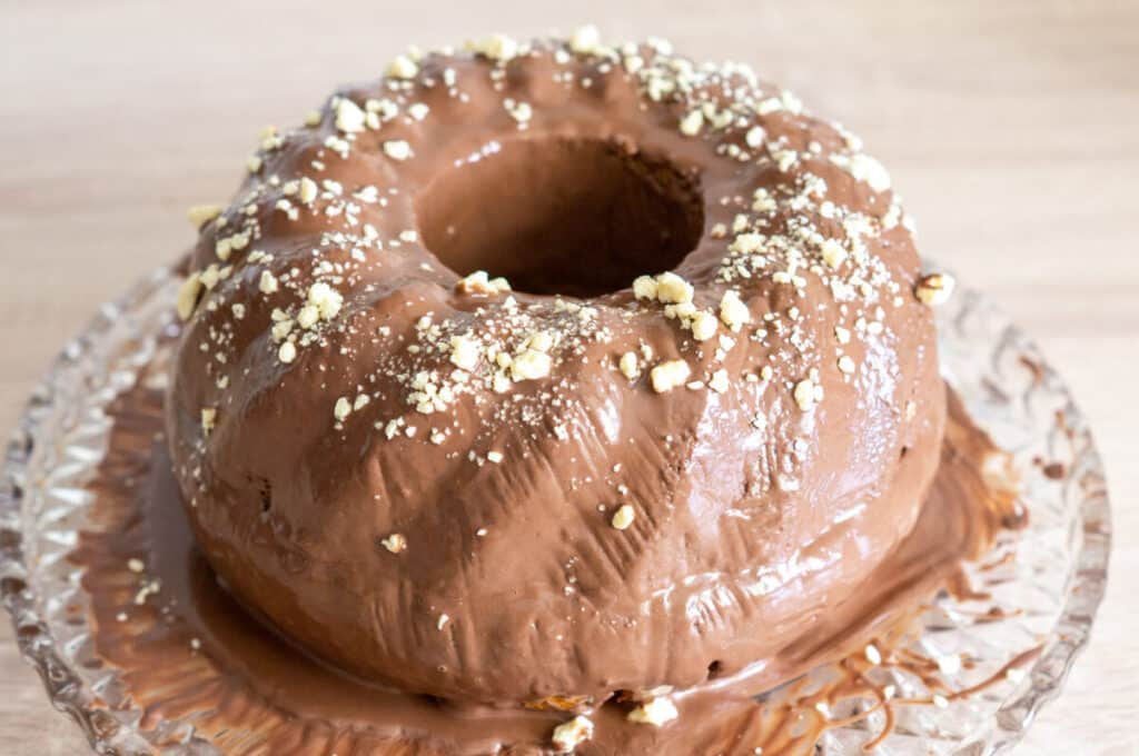 Paradiescreme Kuchen Thermomix mit Schokoladenglasur