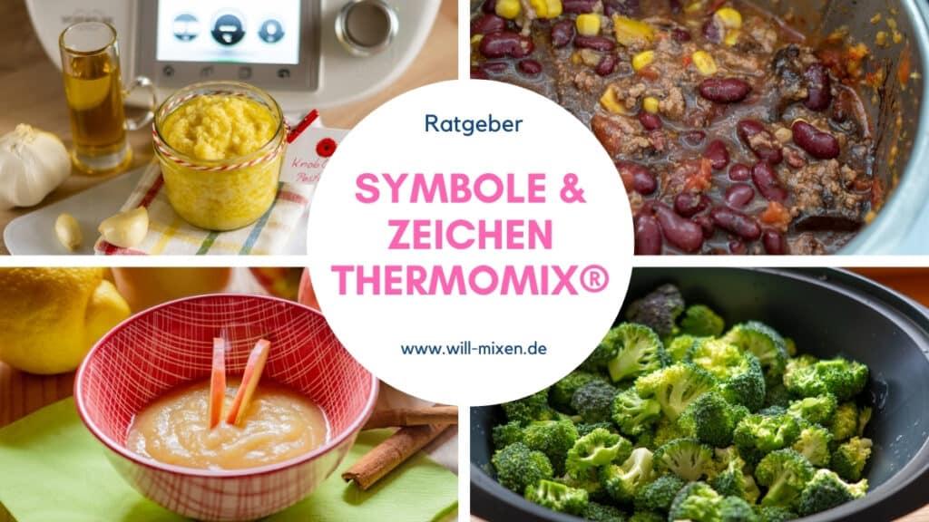Symbole Thermomix Zeichenerklärung