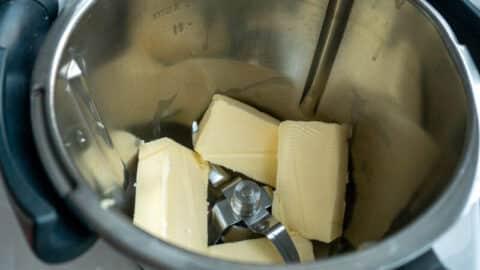 Butter im Thermomix schmelzen