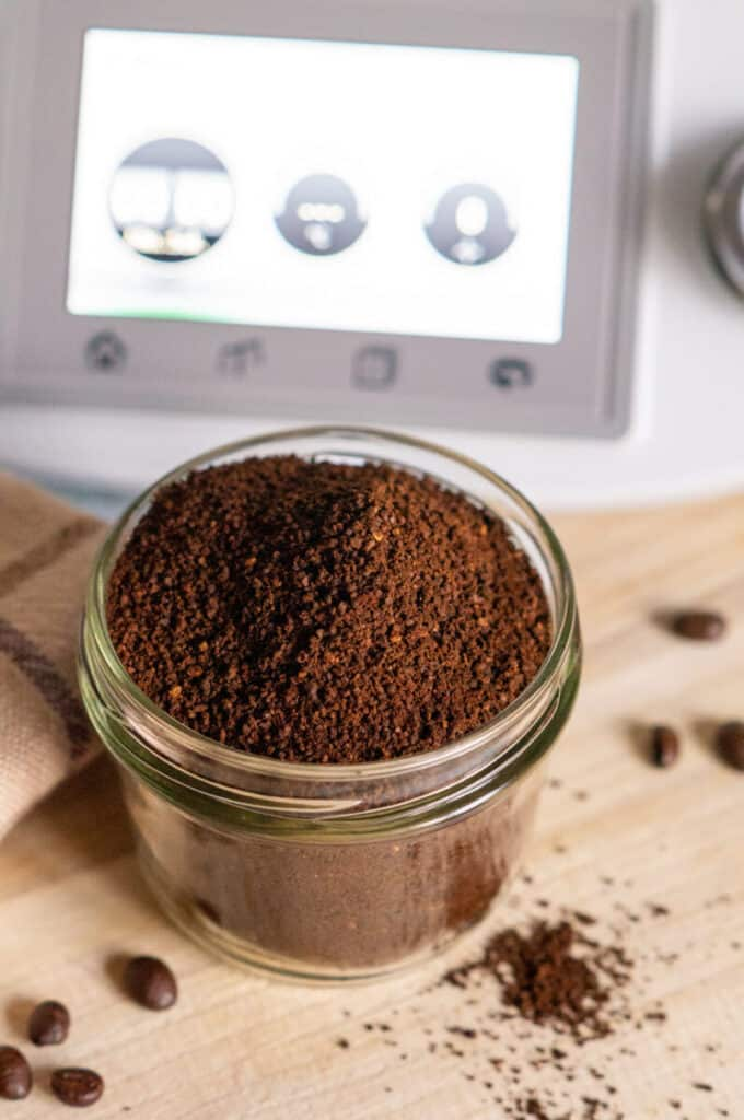 Gemahlener Kaffee aus dem Thermomix®