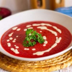 Rote Bete Suppe aus dem Thermomix®