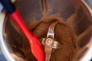 Schokolade hacken im Thermomix