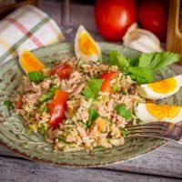 Sizilianischer Reissalat aus dem Thermomix®