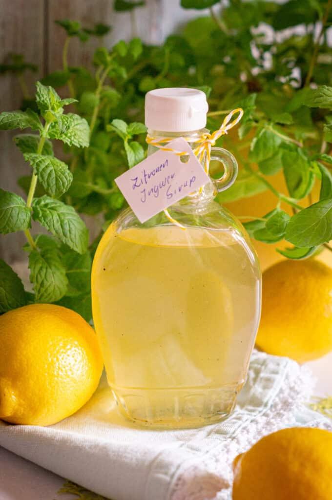 Das perfekte Zitronen-Ingwer-Sirup Rezept findest du bei uns