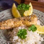 Zitronen-Knoblauch-Fisch aus dem Thermomix®