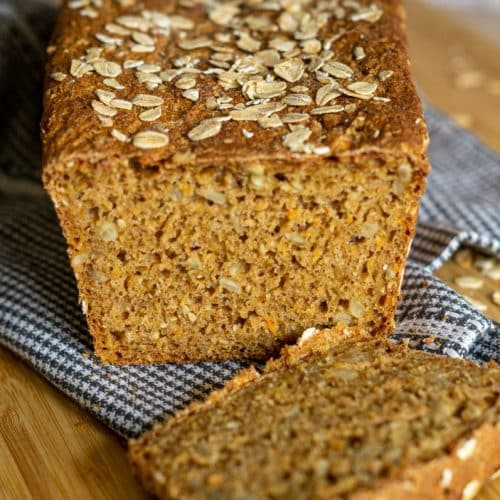 Dinkel-Möhren-Brot aus dem Thermomix®