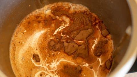 Zutaten Schokoladenmousse im Thermomix