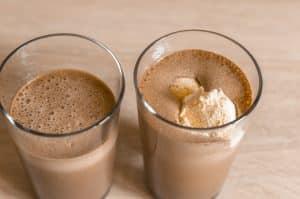 Thermomix® Eisschokolade und Vanilleis