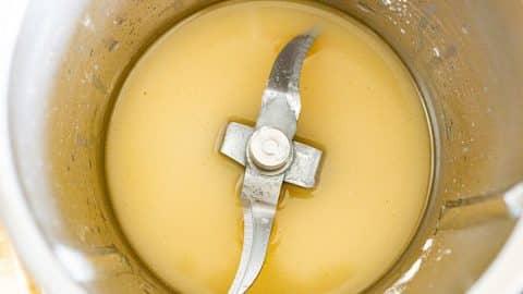 Vanille, Wasser, Zucker und Speisestärke im Thermomix