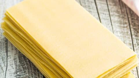 Lasagneplatten selbstgemacht