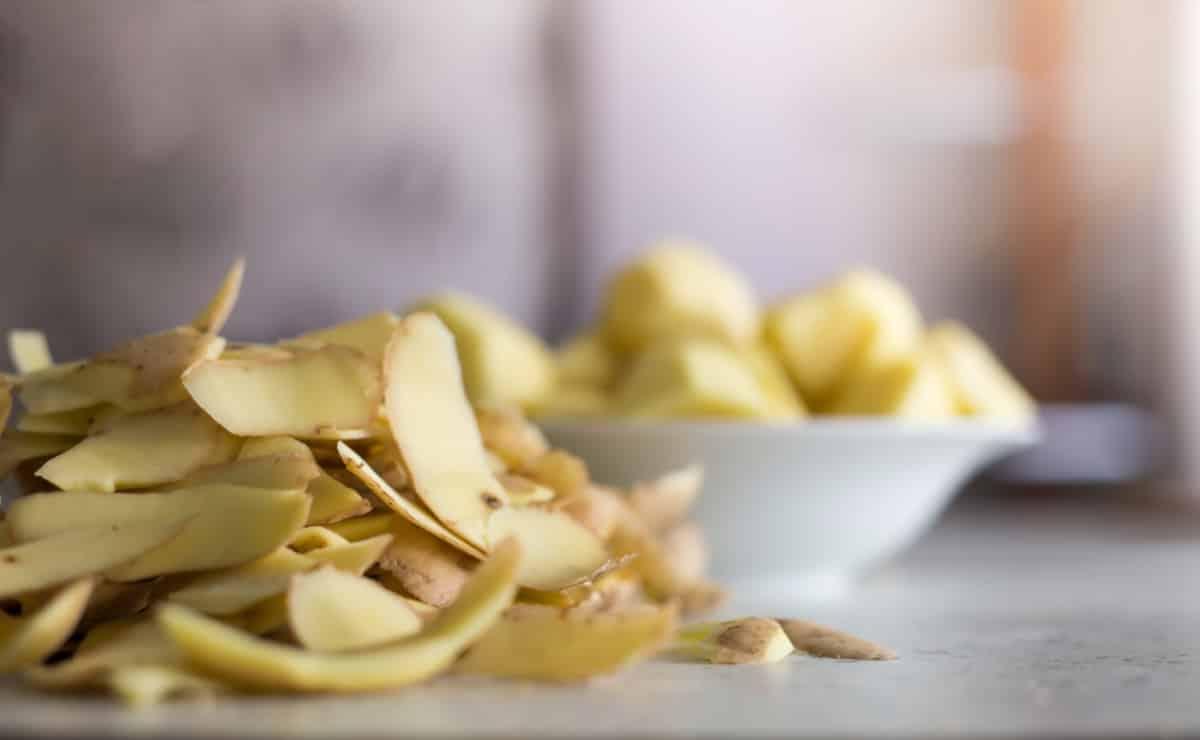 Geschälte Kartoffeln wie von selbst