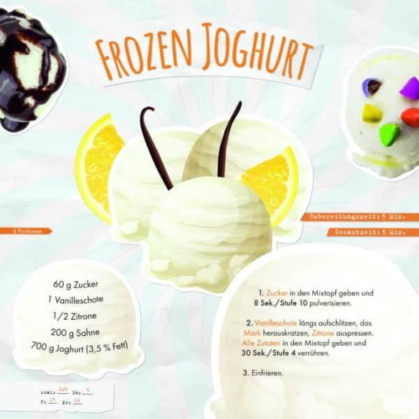 Eis & Mehr Eisrezepte aus dem Thermomix Frozen Joghurt Rezept